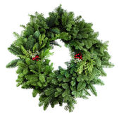 Xmas Wreath 2012 — Stock Photo