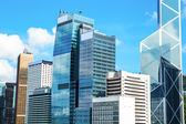 Commercial Buildings in Hong Kong — Stock Photo