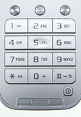 Mobile phone keyboard — Stock Photo