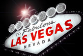 Welcome to Fabulous Las Vegas — Stockfoto
