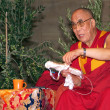 Dalai Lama Tenzin Gyatso - Stock Photo