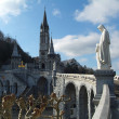 Shrine of Lourdes — Stock Photo