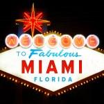 Welcome to Miami — Stock Photo #24410597