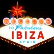 Welcome to Ibiza — Stockfoto #25182649