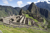 Typical view of Machu Picchu — Stock Photo