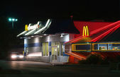 McDonald's Restaurant in Roswell — Stock Photo