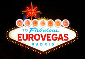 Eurovegas — Stock Photo