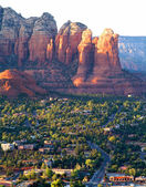 Arizona landscape near Sedona (USA) — Stock Photo