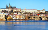 View on Prague castle — Stockfoto