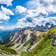 Beautiful panorama of mountains — Stock Photo