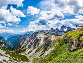 Beautiful panorama of mountains — Stock Photo
