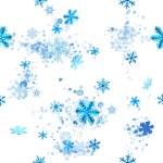 Seamless ice crystals — Stock Photo