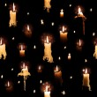 Stock fotografie: Candle Lights with Flowing Wax