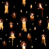 Candle Lights with Flowing Wax — Foto de Stock