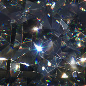 Abstract Diamond Refraction — Stock Photo