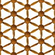 Gilded Flower of Life — Stock Photo