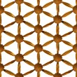 Stock Photo: Gilded Flower of Life