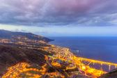 Santa Cruz de la Palma at Night — Stock Photo