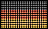 German Flag with Led Lights — Stock Photo