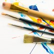 Several brushes — Stock Photo #11968841