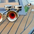 Boat horn — Stock Photo