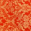 Floral pattern on the fabric — Stock Photo