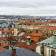 Stock Photo: View over roofs