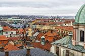 Vista sobre los tejados — Foto de Stock