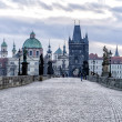 Stock Photo: View of Charles Bridge in Prague