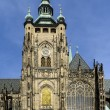 Stock Photo: Fragment of St Vitus Cathedral