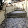 Stock Photo: Stair climb to old town