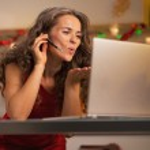 Woman using laptop — Stock Photo #33788371