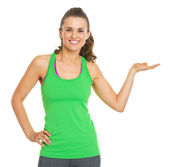 Fitness young woman — Stock Photo