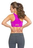 Fitness mladá žena — Stock fotografie