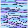 Wavy blue background — Zdjęcie stockowe #12680964