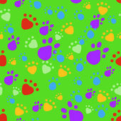 Bright pet seamless pattern — Stock Photo