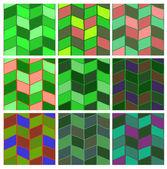 Pattern set — Stock Photo