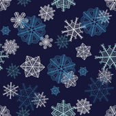 Christmas seamless pattern — Stock Photo
