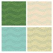 Stock Photo: Abstract vector seamless patterns set.