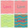 Valentine vector set — Stock Vector #29679337
