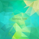 Polygon design stylized vector abstract background — Stock Vector