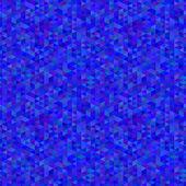 青のポリゴンのシームレスなパターン — ストックベクタ