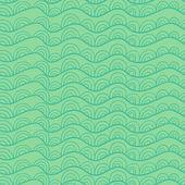 Wavy seamless pattern — Vettoriale Stock