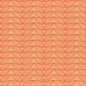 リネン落書きシームレス パターンをニットします。 — ストックベクタ
