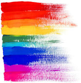 Rainbow strokes — Stock Photo