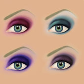 Eye make up — Stock Photo