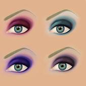 Eye make up — Stock Photo