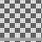 Chess vector beadwork pattern — Stock Vector