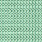 Mosais beadwork scheme template — Stock Vector