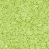 Abstract vector seamless pattern. Nice green colors. — Stock Vector